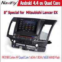 "Android 4.4.4 Quad core 7"" Car DVD Player for MITSUBISHI LANCER 2006-2012 with GPS Bluetooth Radio WIFI"