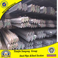 HDG angle iron with zinc coat 60g-200g