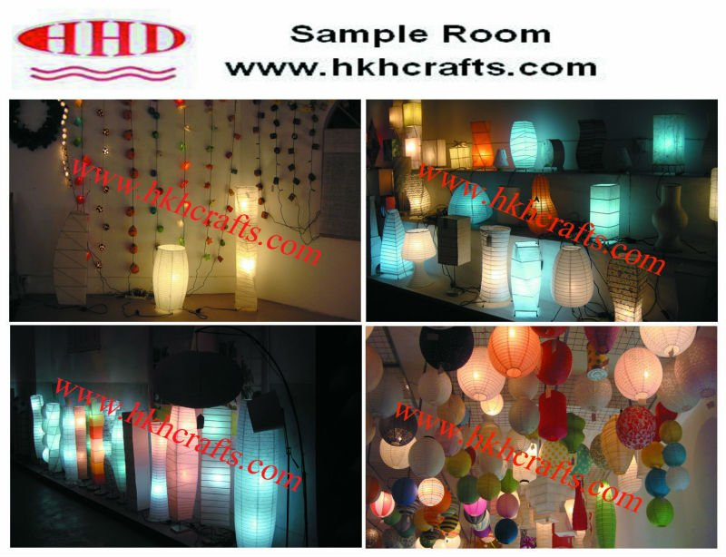 Paper lantern christmas ornaments