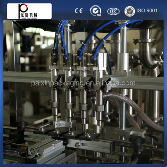 Advanced design olive oil/cooking oil filling capping machine Easy operation save space