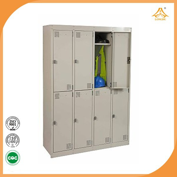 High Quality Double Door Metal Locker Available In Flat Package