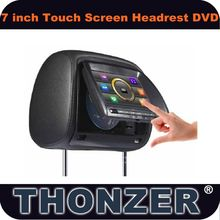 7 inch HD Digital car headrest dvd with Game and Touch Screen function and SONY Loader