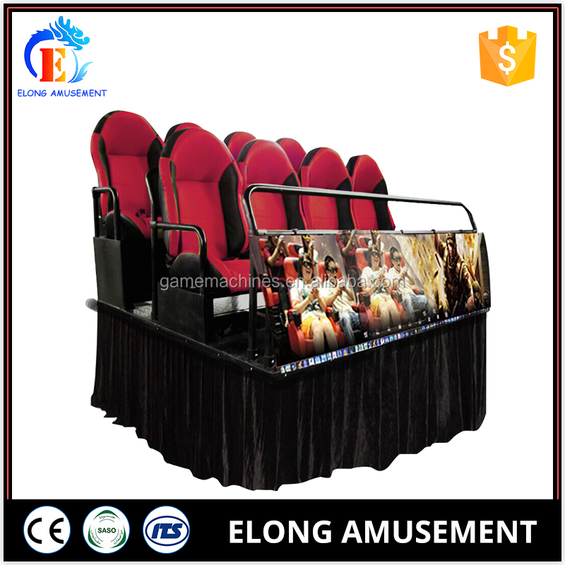 Elong Cheap Price 7D Cinema Simulator Equipment Animation Movies with High Quality
