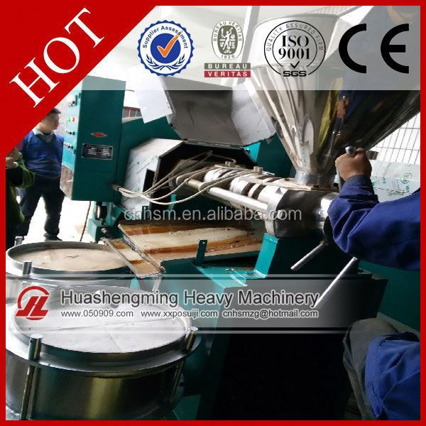 HSM Manufacture ISO CE apple seeds cooking oil press machine
