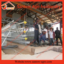 Automatic Poultry Layer Cage Hot Dipped Battery Cage Wire Mesh Sale Agent In Nigeria Kenya Zambia
