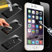 Hot Sale 9H 0.33mm 2.5D Tempered Glass Screen Protector for iPhone 6 Laudtec
