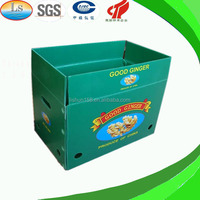 2014 Cheap Eco-friendly High Quality Coreflute Plastic Box