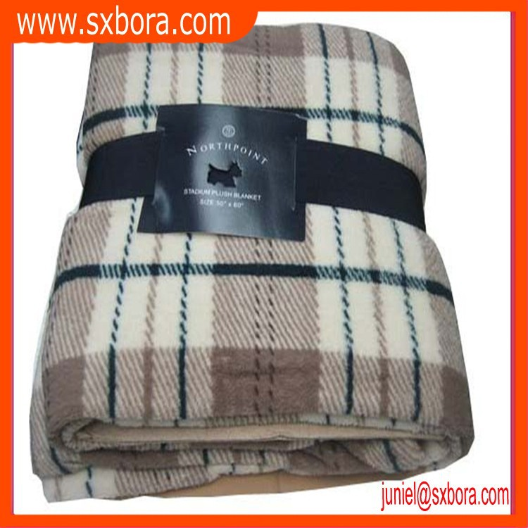 2015 high quality 100% polyester korean blanket wholesale