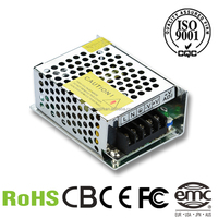 CQ-24W 24v 1a minisize single output led power supply small internal driver