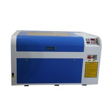 China small 6040 50w co2 paper wood acrylic fabric laser cutter best price