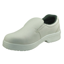 NMSHIELD White nurse kitchen food ESD S2 safety shoes