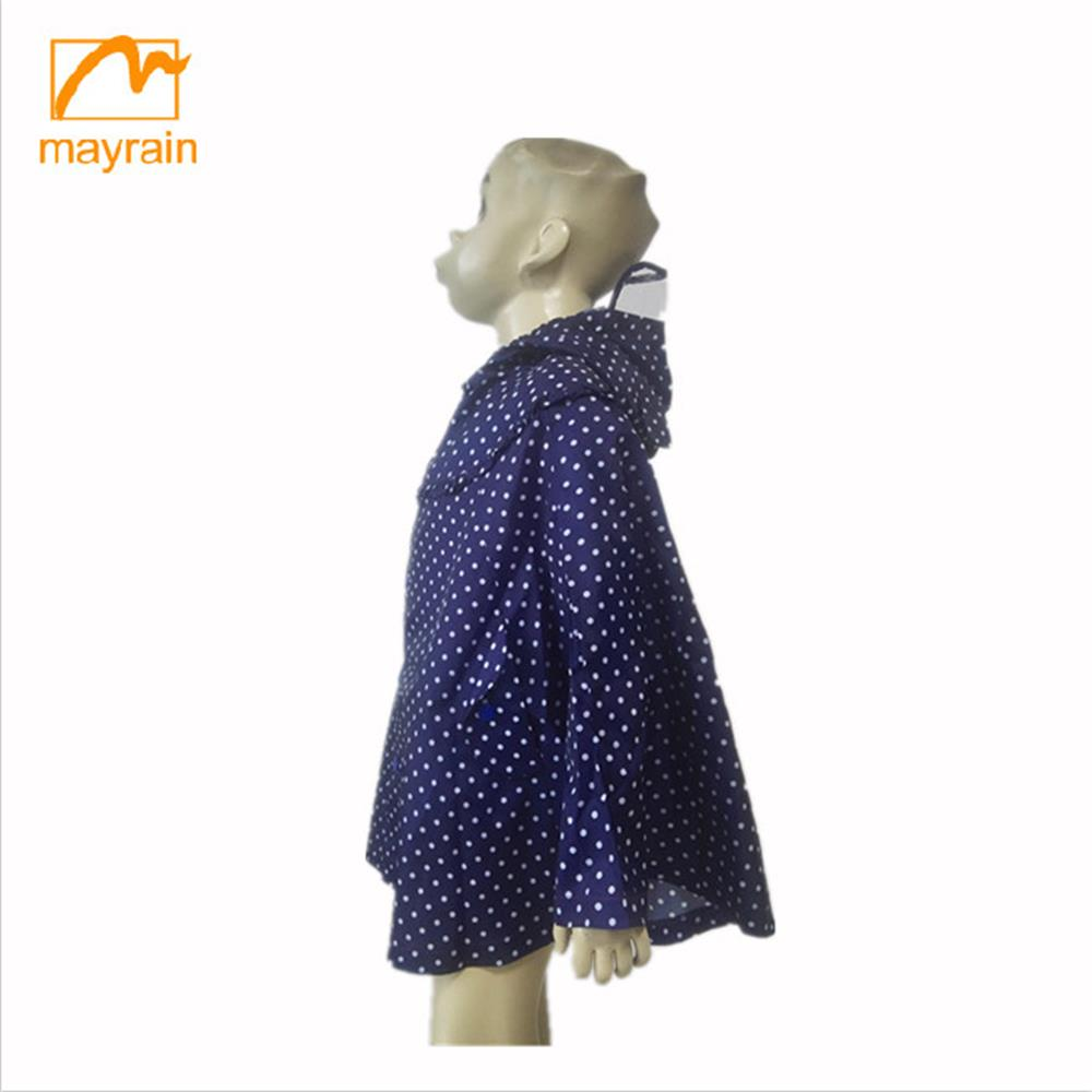 Summer kid clothing comfortable casual children girls dress type raincoat