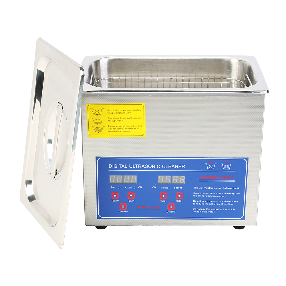 1.3 <strong>L</strong> Ultrasonic Cleaner Heater Timer Bracket Jewelry Ultrasonic Cleaning Machine