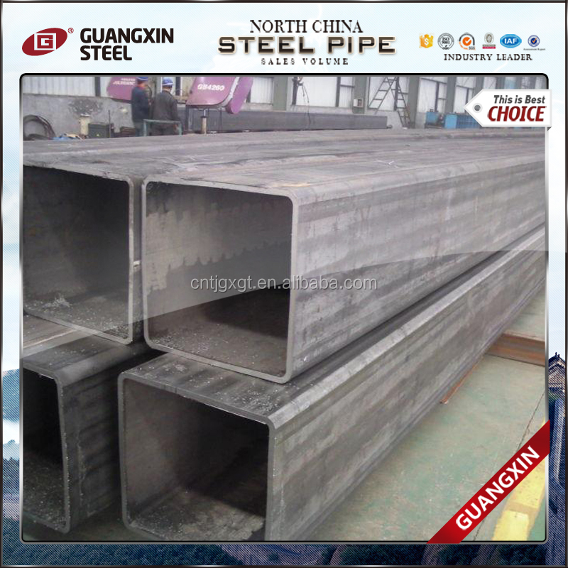 astm a139 square furniture hollow section carbon steel pipe10*10