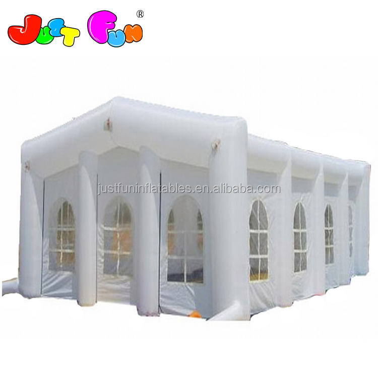 commerical inflatable party tent, white  wedding tents, photo booth for sale