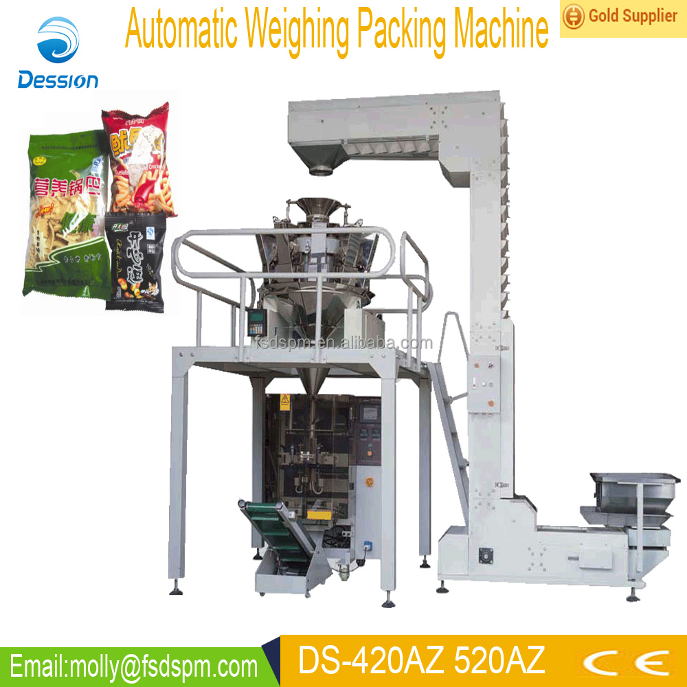 Automatic frozen chicken legs weighing packing machine
