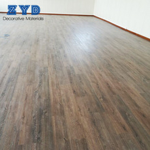 Professional customization green pvc waterproof vinyl plank flooring with click