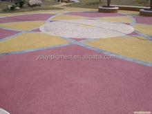 factory iron oxide pigment for colored concrete