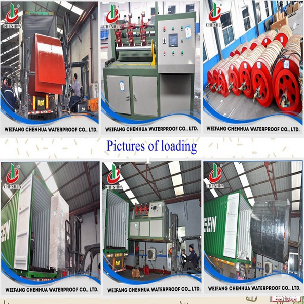 Construction building material Asphalt sheet membrane machine made in China