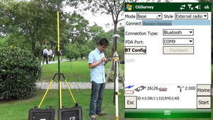 Sino comnav T300 series GPS rtk for topo surveying instrument