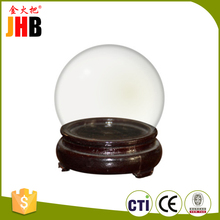 Custom empty water ball picture can insert plastic acrylic snow globe