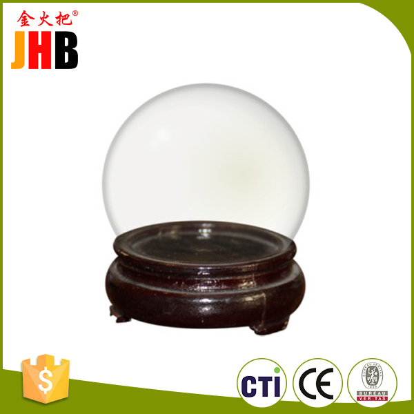 Customized empty water ball picture can insert plastic acrylic snow globe