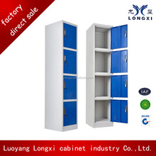 office room/supermarket/gym used 4 compartments steel locker
