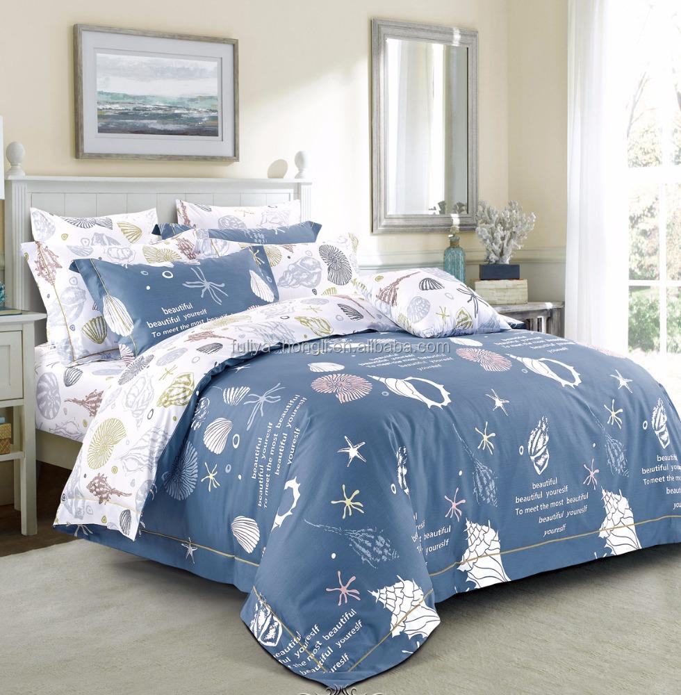 Wholesales Pure Cotton Modern Custom Printed U003cstrongu003ebedu003c/strongu003e Sheets U003c