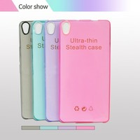 Transparent Phone Case ,Lens Phone Case , Blank TPU Cell Phone Case For Infinix Hot 2 x510 With Camera Lens
