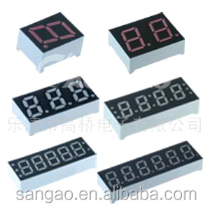led 7 segment display Low price Good quality Approved 6 digit segment 0.56 inch 7 segment LED display