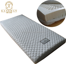Luxury sleep well relax soft natural latex foam mattress with zipper