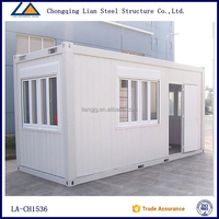 Modular prefab homes green house glass containers casa