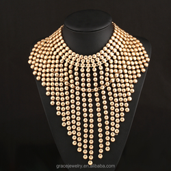 Handmade Made In China Women Cheap Bulk Statement Necklaces