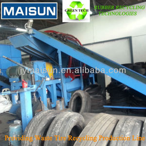 Economic and High Capacity Waste tyre/scrap tyre Recycling Plant