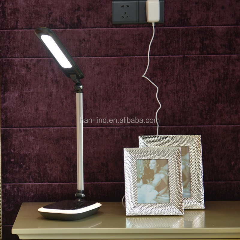 New design wood wireless charger lamp for smart phone