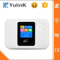 Delicate LCD Screen Pocket mini wifi hotspot with SIM Card and 5200mAh Power Bank