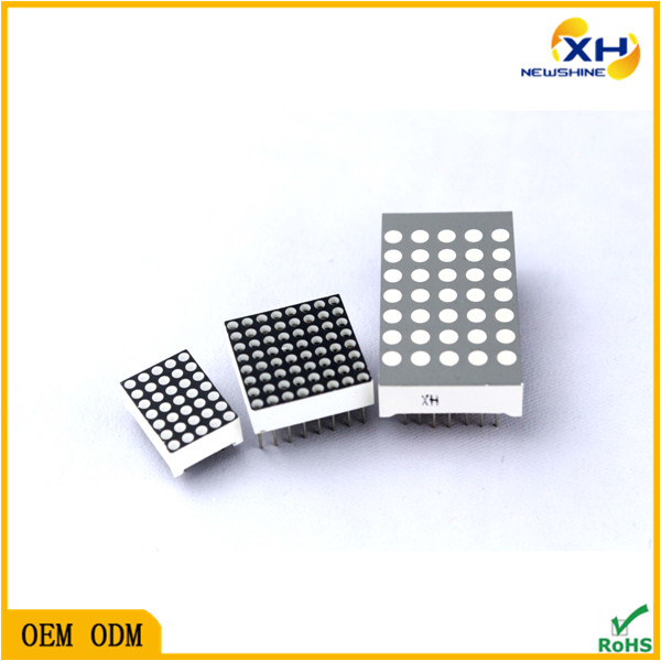 NEWSHINE Through Hole FND OEM/ODM manufacturer XH-12057 LED Module Elevator Dot Matrix Display 5x7