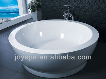 Bathtub 2 Person Soaking Freestanding Acrylic Round Bathtub Buy Bathtub 2 P