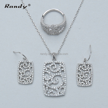 Wholesale Hong Kong White Gold Plating Jewelry