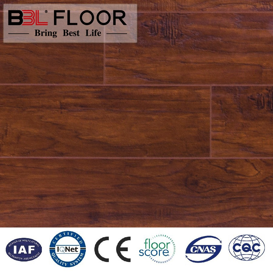 Free sample super high gloss laminate flooring Factory