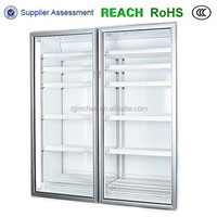 2015 hot sale double pane thermal tempered glass doors