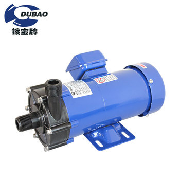 Industrial chemical mini magnetic pump mp-6r