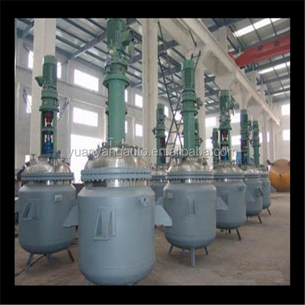 Pressure vessel glass lined reactor chemical reaction tank withtop quality reasonable price high pressure reaction vessels