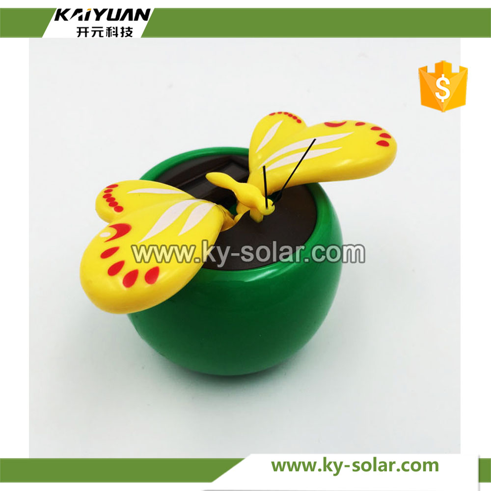 Hot solar powered car decoration toys cute sunlight solar toys
