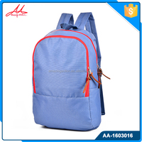 Latest youth popular korean style leisure fashion bag backpack for daily use