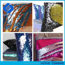 "Stock And Fast Delivery 2017 New Mermaid Pillow Cover 16""X16"" Magic Pillows Square 40 X 40cm Reversible Sequin Mermaid Pillow"