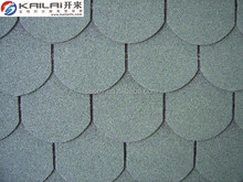 Fish scale cheap asphalt shingles for roof