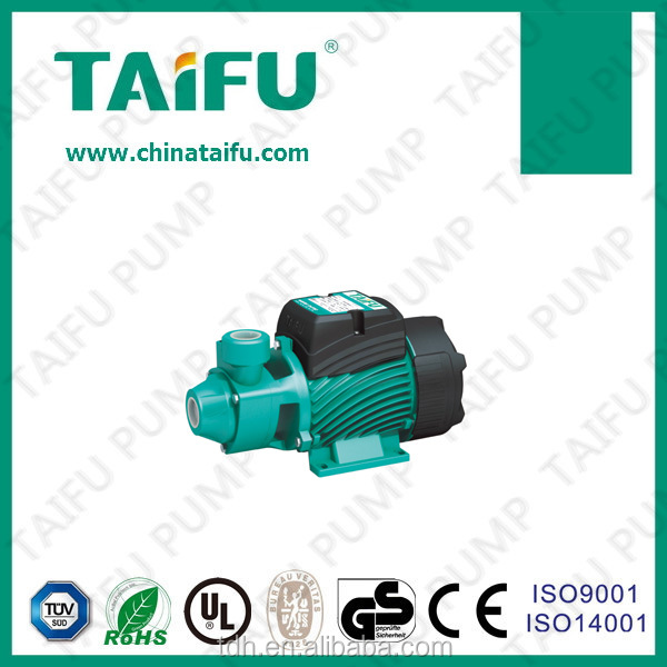 TAIFU brand 2015 0.5hp brass impeller electric best quality peripheral 220v low flow small water pump