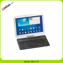 Universal bluetooth wireless Keyboard with stand holder for mobile phone/ipad/tablet PC/notebook