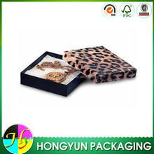 wholesale foldable paper animal jewelry box